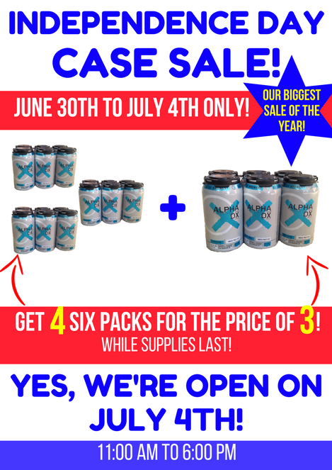 July 4th Case Sale Old Ox