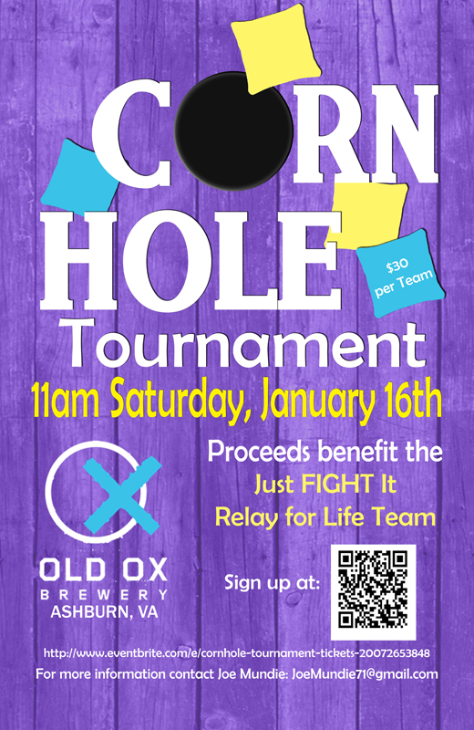 2016 Relay for Life Cornhole tourney