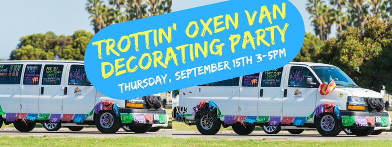 Van Decorating Party