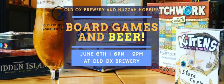 Board Games Beer June