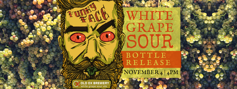 Funky Face White Grape Sour Bottle Release