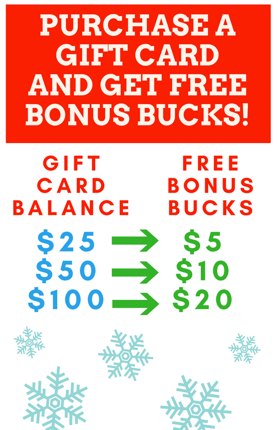 Old OX Holiday Promotion
